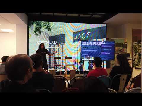 (5/6) The Bitcoin Family visits @CRYPTOPLAZA Madrid - 16.09.2019
