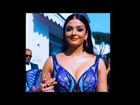 Aishwarya Rai In 4K HD At The Cannes Film Festival 2018