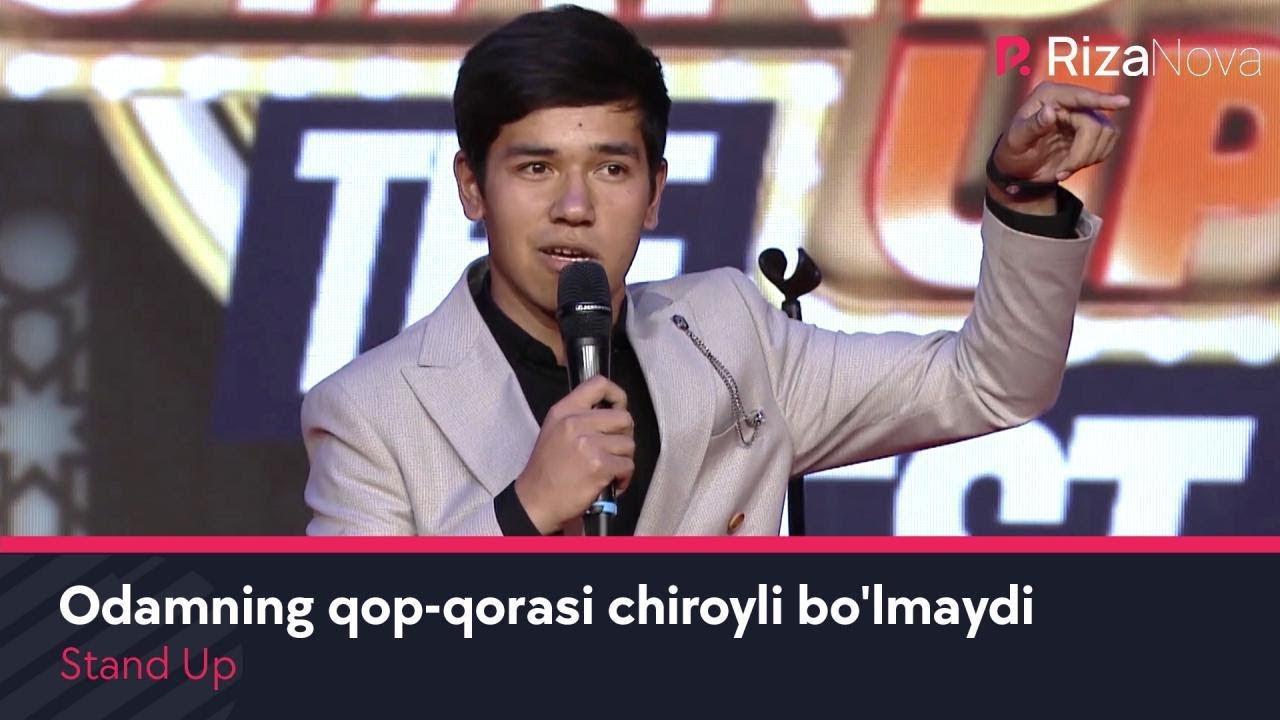 Stand Up - Odamning qop-qorasi chiroyli bo'lmaydi