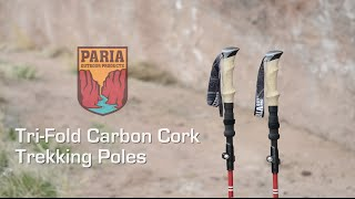 Video Tri Fold Carbon Cork Trekking Poles by Paria Outdoor Products download MP3, 3GP, MP4, WEBM, AVI, FLV September 2017