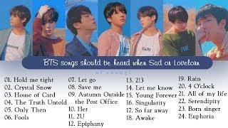 [playlist] ballad bts songs ➡ best song (for study. chill. relax. sleep. rain)