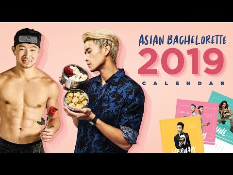 We made an Asian Bachelorette CALENDAR!