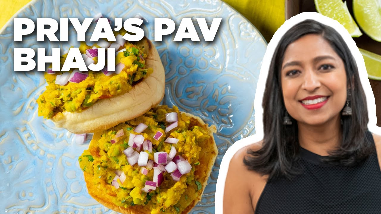 Download Priya Krishna Makes Pav Bhaji | Food Network
