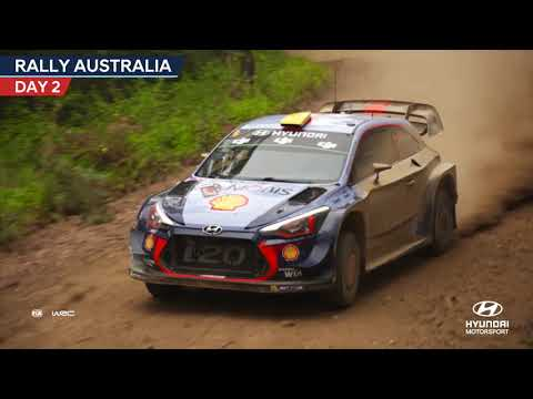 Rally Australia Day Two - Hyundai Motorsport 2017
