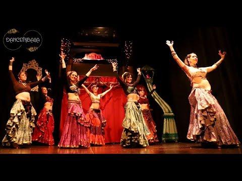MID Troupe 2 - Hafla Navidad Dancetribalia 2018