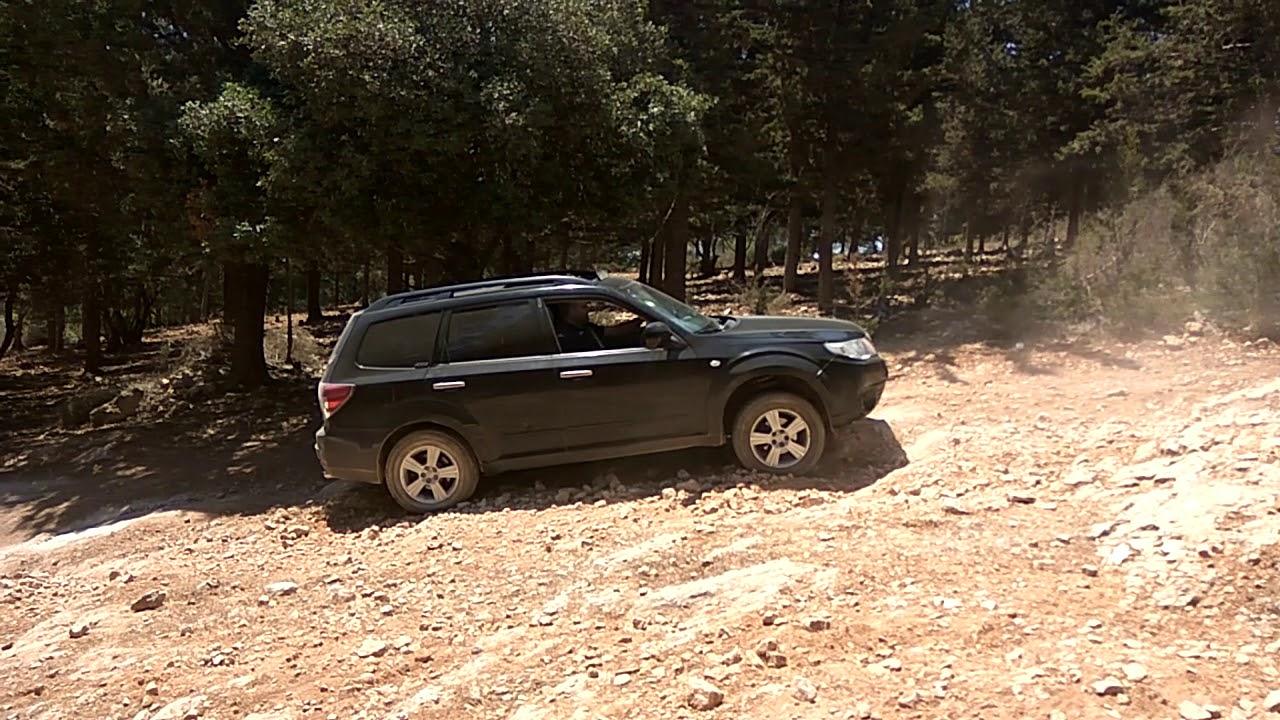 מגניב סובארו פורסטר Subaru forester off rood - YouTube CQ-72