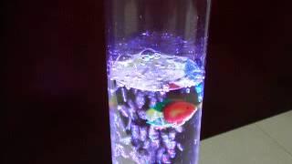 水龍風水柱燈