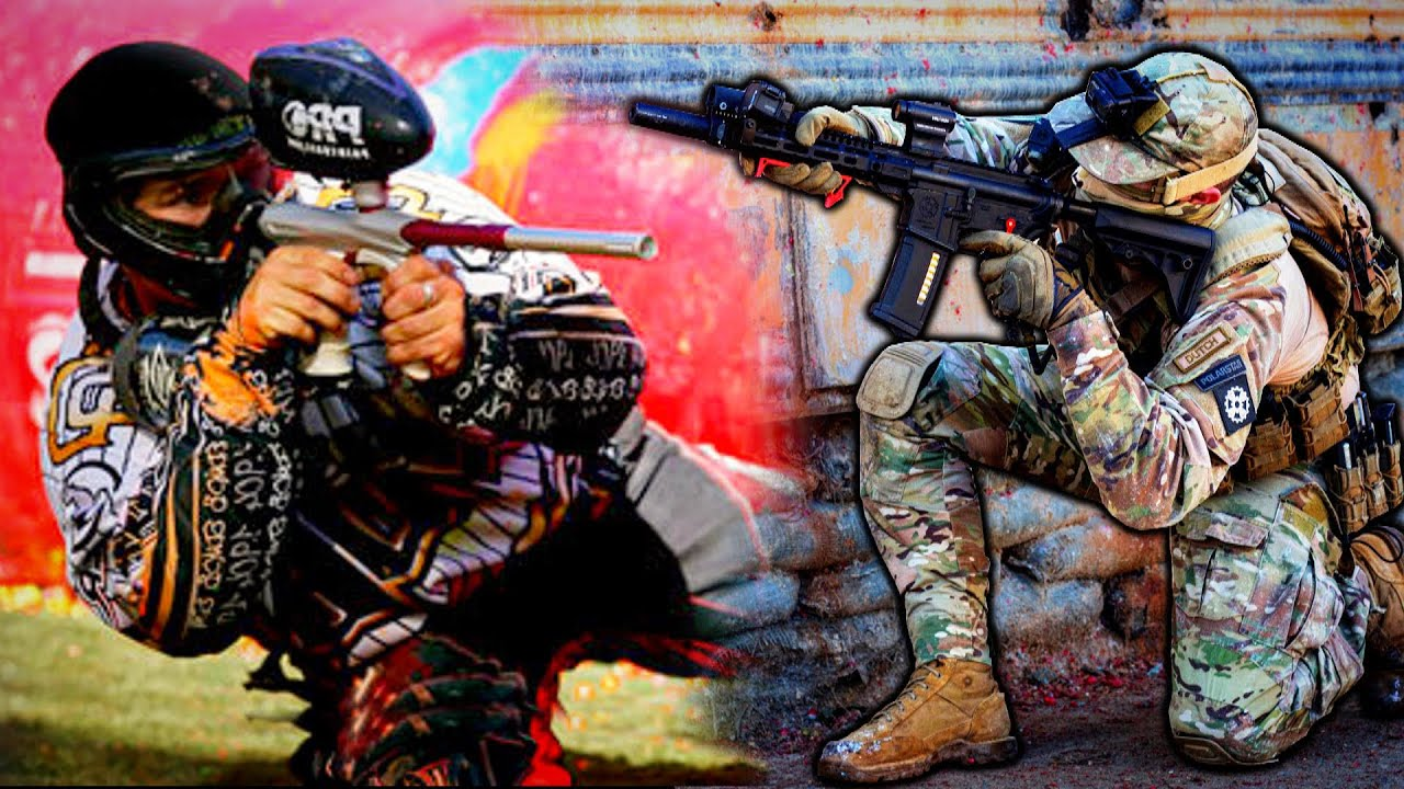 Airsoft - Paintball Style (It's Actually AWESOME!)