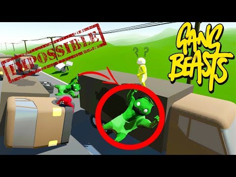 THE UNSTOPPABLE BEAST !!! GANG BEASTS w/ Sharky