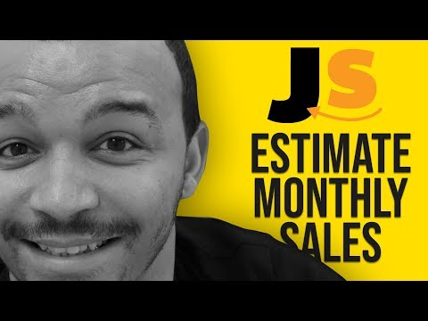 How To Estimate Monthly Sales On Amazon FBA Using Jungle Scout? | Success Partner | Jake Diego