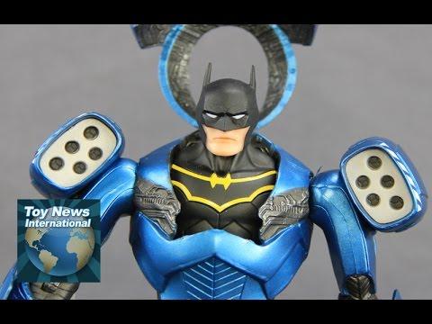 "DC Comics Designer Series Greg Capullo 7"" Scale GCPD Batman Deluxe Figure Set Review"