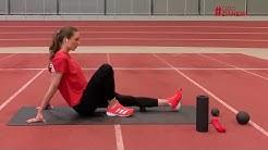 Running Recovery mit Laura Marie Müller und Blackroll | #GBDdaheim | Generali