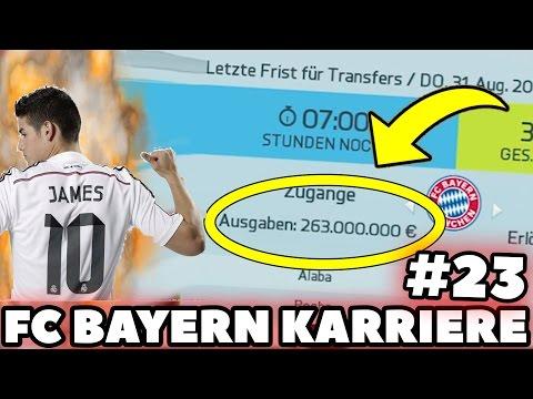 FIFA 16: FC BAYERN KARRIERE XXL #23 | 260 MILLIONEN TRANSFERS! NEUER REKORDTRANSFER!? | DEUTSCH