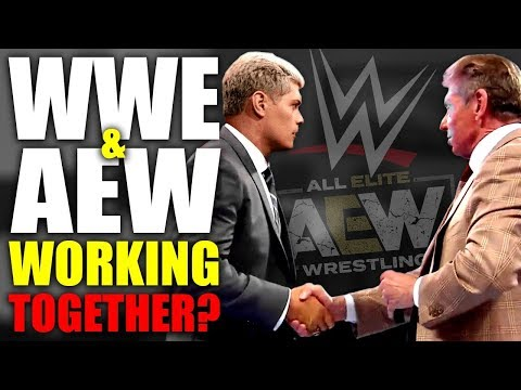 Former WWE Employee Claims WWE and AEW Are Secretly Working Together!