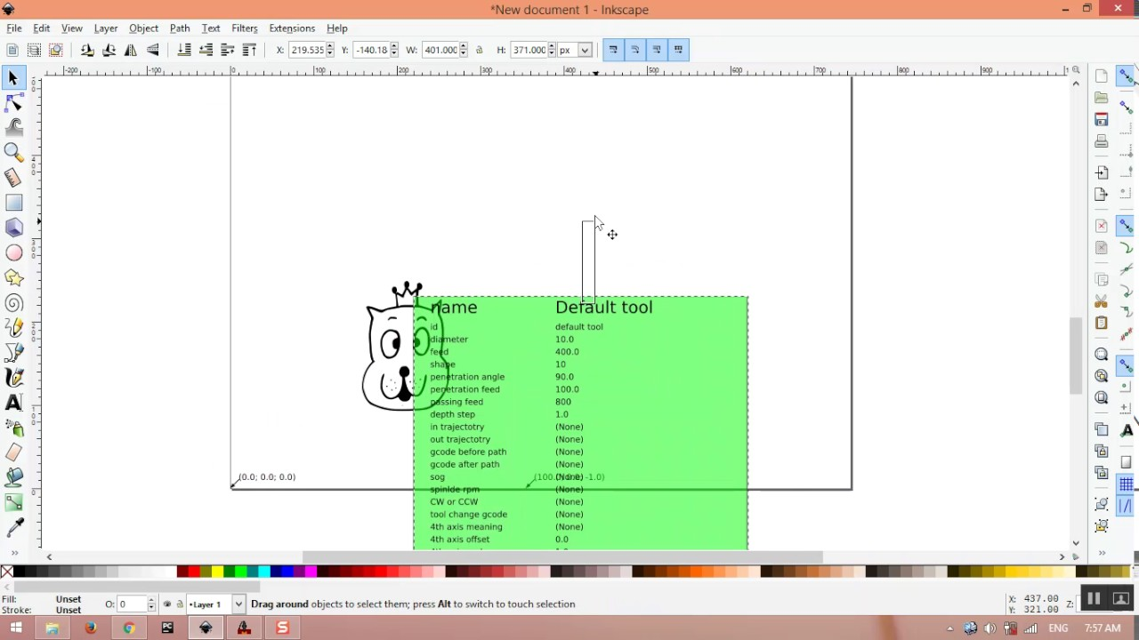 Image To G Code with Inkscape