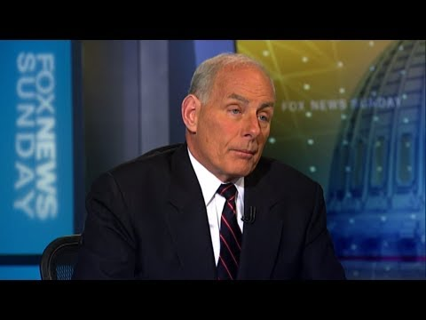 John Kelly on Intelligence Leaks, on 'Fox News Sunday'