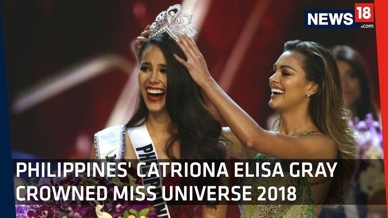 Philippines' Catriona Elisa Gray Wins Miss Universe 2018
