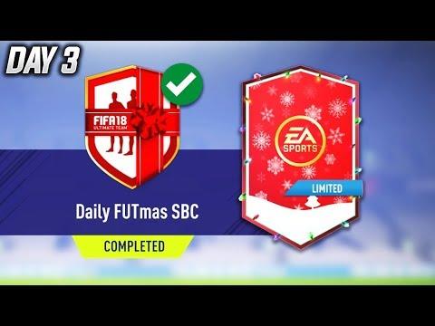 DAILY FUTMAS DAY 3 SBC COMPLETED!! - FIFA 18 FUTMAS SBC!