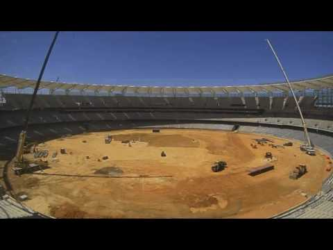 Perth Stadium timelapse vision January 2017
