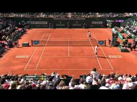 Final de Monte Carlo - Novak Djokovic Vs Rafael Nadal HD