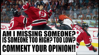 Top 10 Hardest Hitters in NHL History