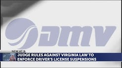 Virginia DMV barred from suspending licenses for failure to pay fines