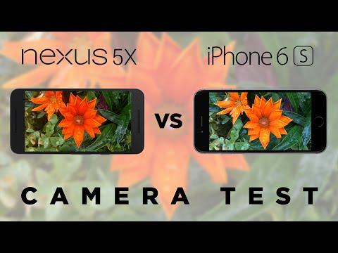 Nexus 5X vs iPhone 6s Camera Test Comparison