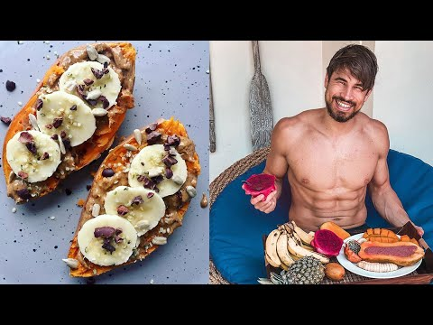 What I eat in a day *Intermittent Fasting + Vegan*