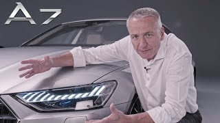 2018 Audi A7 Sportback - NEW Features Review   APEX