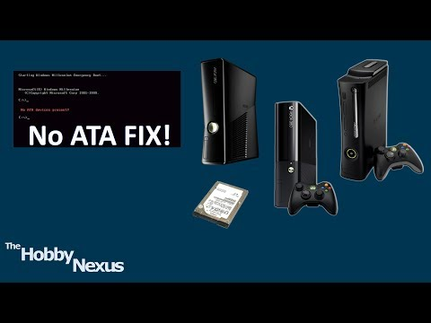 hddhackr No ATA Devices Present! error fix [Xbox 360]