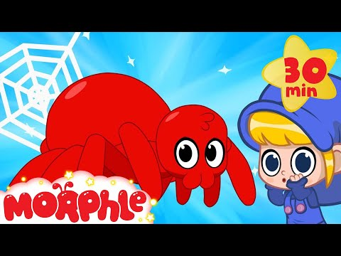 Thumbnail: My Scary Pet Spider! Morphle becomes a spider superhero! My Magic Pet Morphle Animation for kids