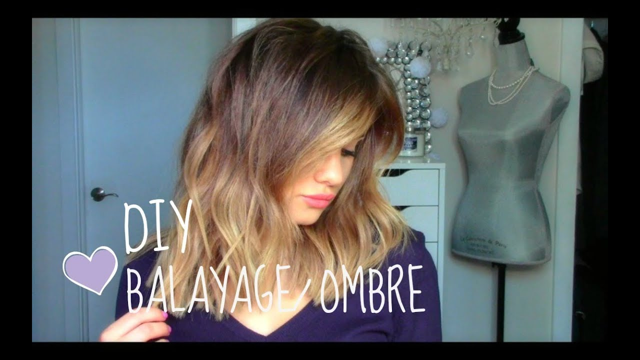 Diy balayage or ombre at home youtube solutioingenieria Choice Image