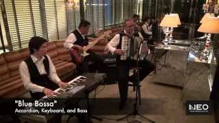 French Jazz Live Music Hong Kong - Accordion, Keyboard, Bass - Neo Music Production