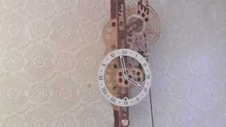 Brian Law's Woodenclocks - Clock 24 With Woodenclocks Escapement