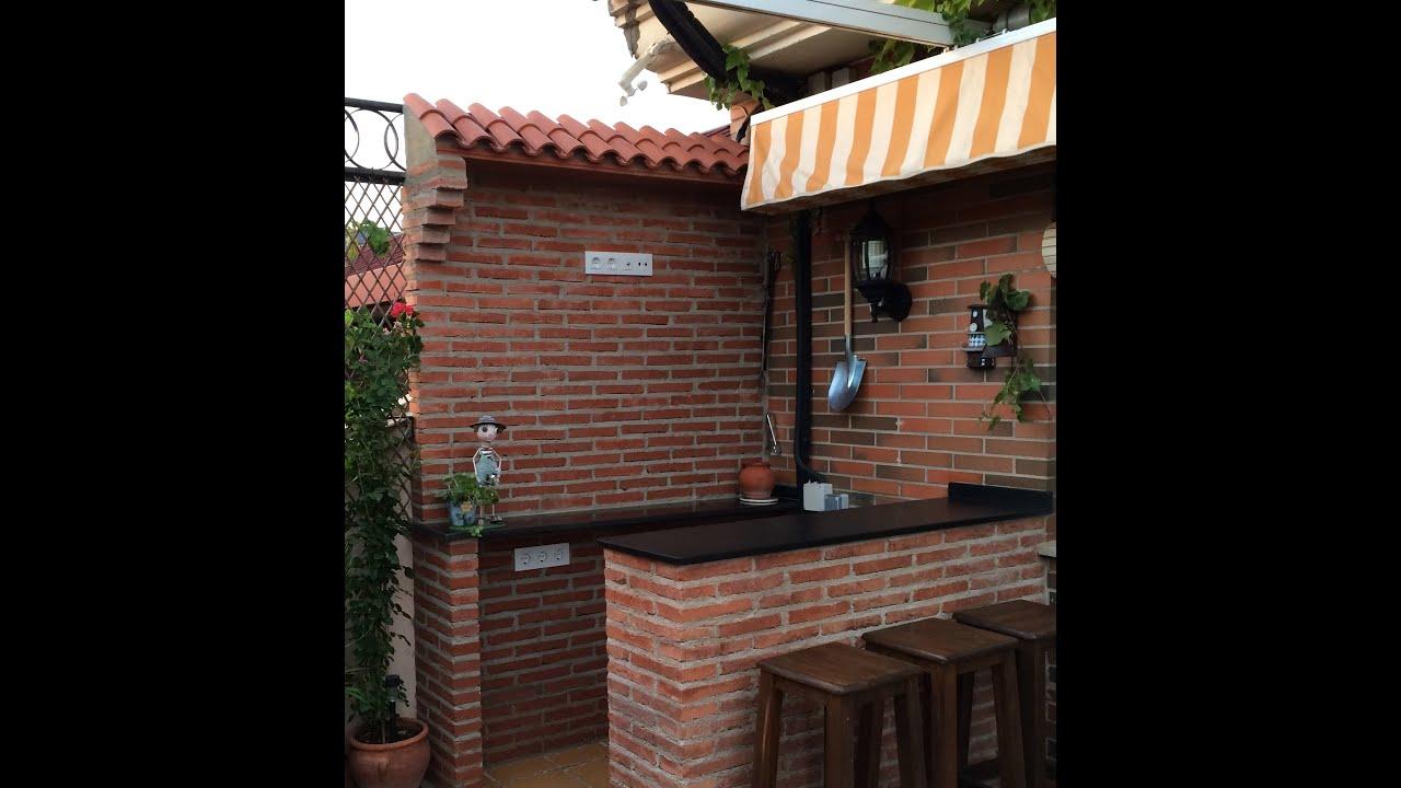 Como se hace una barra de ladrillo rustico rustic brick for Barras de bar para casa rusticas