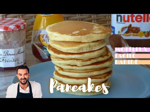 les-pancakes-de-cyril-lignac,-un-délice-!---léa-cooking