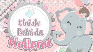 Download lagu Convite animado chá de bebê Elefantinha rosa by Pamella Mell