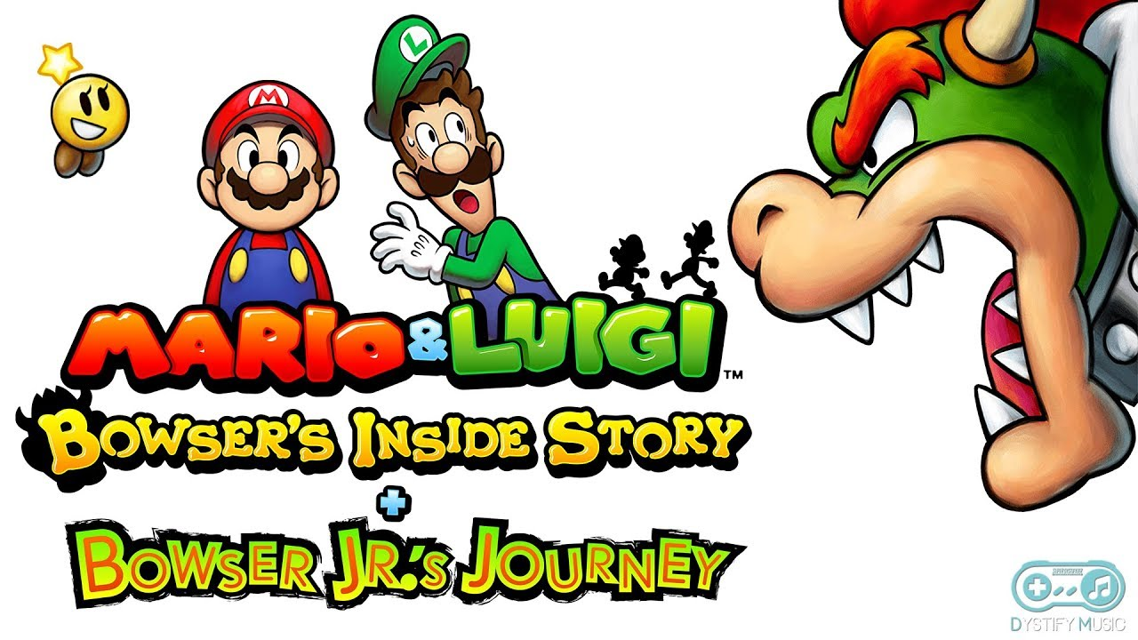 Mario Bros Battle Mario Luigi Bowser S Inside Story Bowser