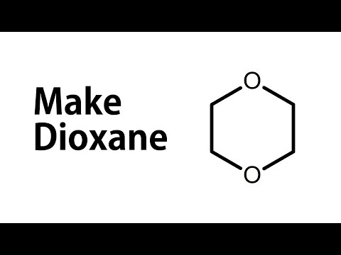 Make Dioxane from Antifreeze