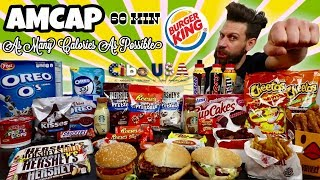 AMCAP Challenge - (AS MANY CALORIES AS POSSIBLE) - MAN VS FOOD