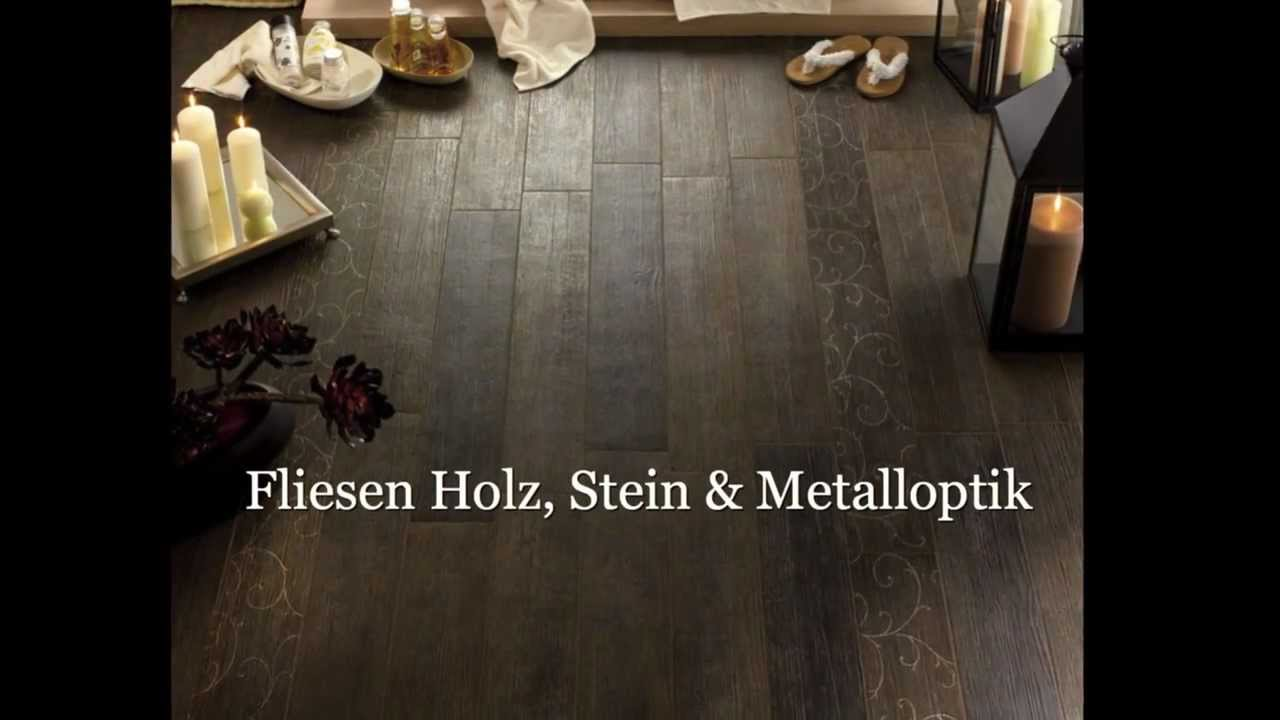 fliesen feinsteinzeug holz stein metalloptik von natursteinversand youtube. Black Bedroom Furniture Sets. Home Design Ideas