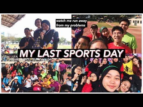 SPORTS DAY OF A MALAYSIAN SCHOOL VLOG (SMKBL 2019) // IRDINA HANI