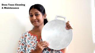 Indolium Dosa tawa Review, seasoning, cleaning & maintenance tips