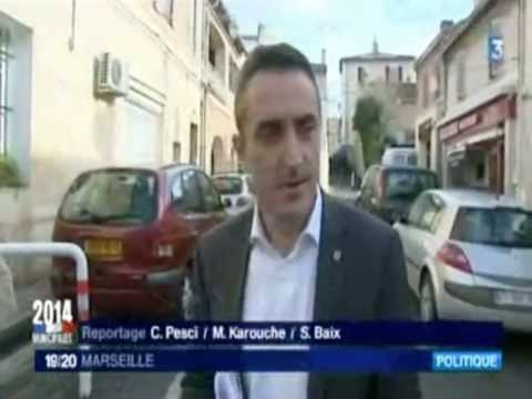 Reportage FR 3 Marseille  - Élections Municipales