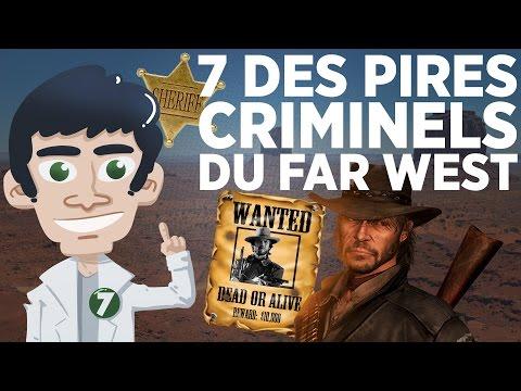 7 des pires criminels du Far West