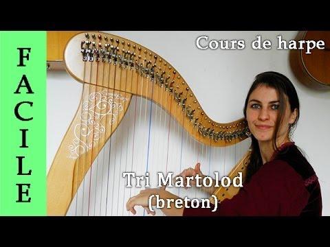 Tri martolod - cours de harpe -tutoriel- débutant - Par Evélina SIMON