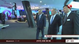 Ислам Каримов засыпал Нурсултана Назарбаева комплиментами