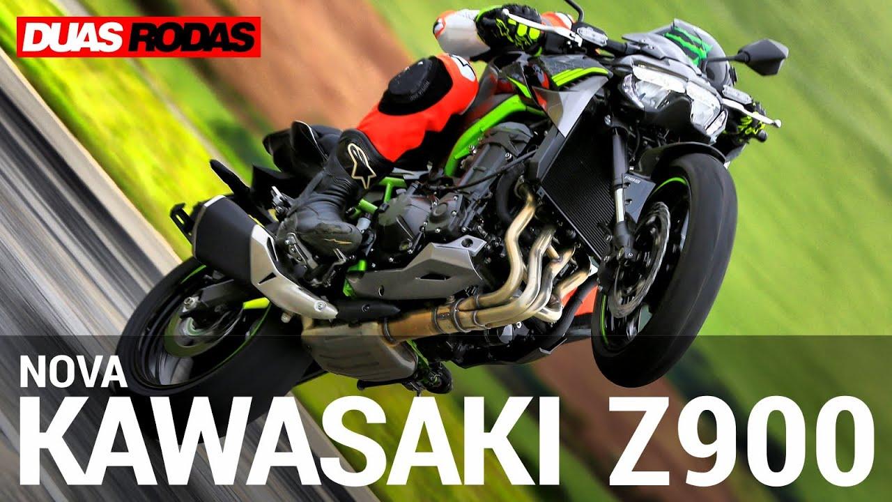 TESTE | NOVA KAWASAKI Z900 2021