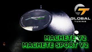 Новые сабвуферы MACHETE M V2; MACHETE SPORT V2