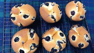 #94 CÁCH LÀM BÁNH MUFFINS PHÔ MAI VIỆT QUẤT - Blueberries Cheese Muffins Recipe [ Góc Bánh Trái ]